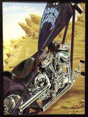 Art Panels - Rock and Roll Custom Paint