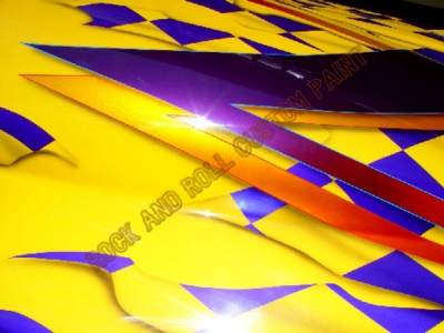 Boats - Rock and Roll Custom Paint