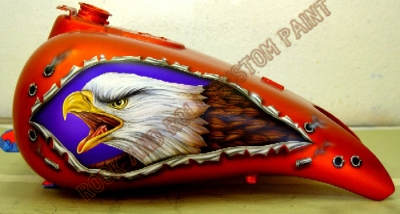 Eagles - Rock and Roll Custom Paint