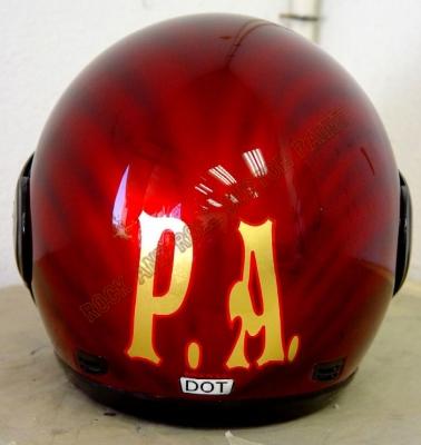 Helmets - Rock and Roll Custom Paint