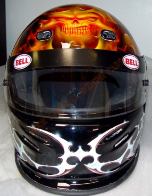 Helmets - Rock and Roll Custom Paint