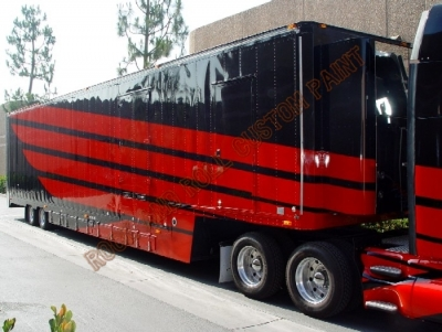 RV and Trailer - Rock and Roll Custom Paint