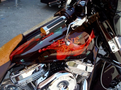 Theme Bikes - Rock and Roll Custom Paint