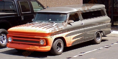 Trucks - Rock and Roll Custom Paint