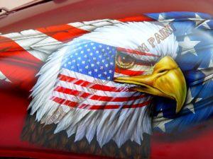Americana Custom Paint 225