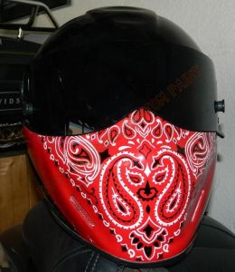 Bandana Set Custom Paint 2237