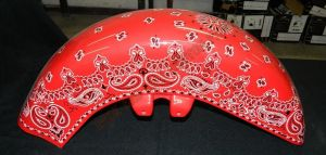 Bandana Set Custom Paint 2246