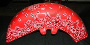Bandana Set Custom Paint 2247