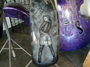 Biker Babes Custom Paint 2259