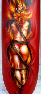 Biker Babes Custom Paint 304