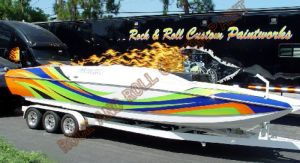 Boats Custom Paint 1234