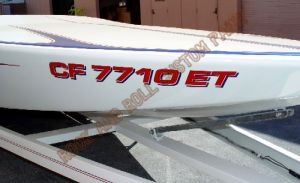 Boats Custom Paint 1241