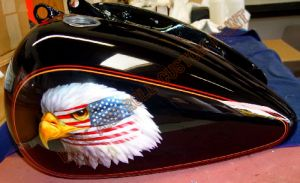 Eagle Custom Paint 408