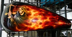 Flames Custom Paint 2264