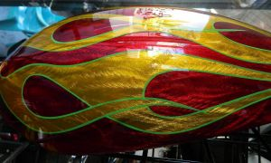 Flames Custom Paint 2266