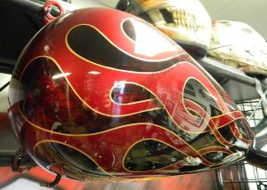 Flames Custom Paint 2272