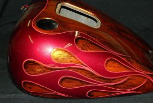 Flames Custom Paint 2304