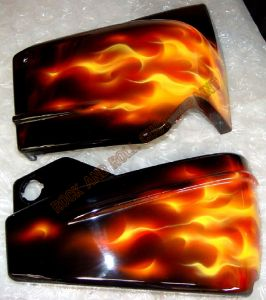 Flames Custom Paint 453