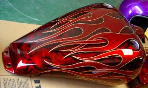 Flames Custom Paint 471