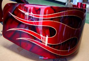 Flames Custom Paint 472