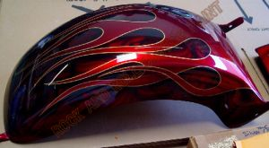 Flames Custom Paint 473