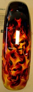 Flames Custom Paint 474