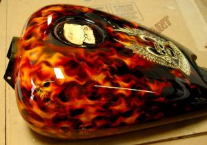 Flames Custom Paint 475