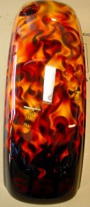 Flames Custom Paint 477