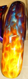 Flames Custom Paint 490