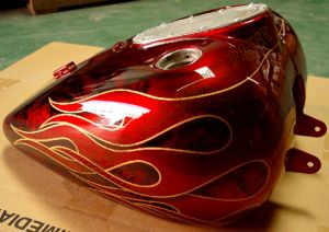 Flames Custom Paint 511