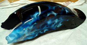 Flames Custom Paint 535