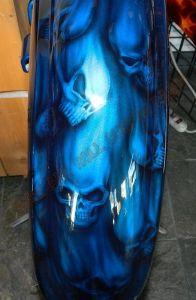 Geiger And Skulls Custom Paint 2308