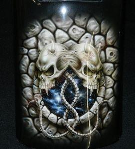 Geiger And Skulls Custom Paint 2324
