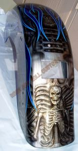 Geiger And Skulls Custom Paint 552