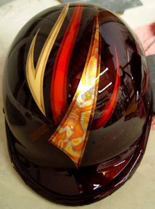 Helmet Custom Paint 100