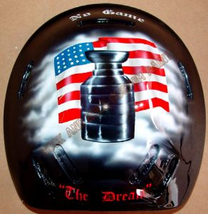 Helmet Custom Paint 102