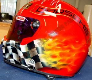 Helmet Custom Paint 114