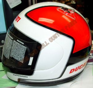 Helmet Custom Paint 125
