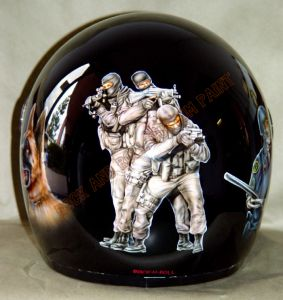 Helmet Custom Paint 13