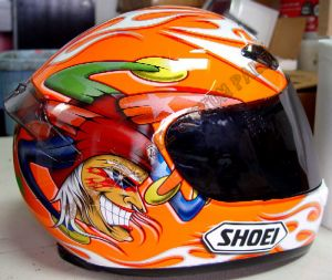 Helmet Custom Paint 132