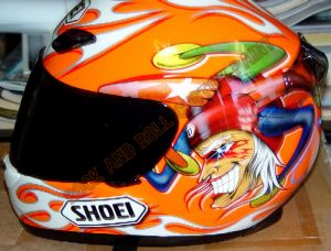 Helmet Custom Paint 134
