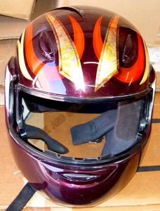 Helmet Custom Paint 135