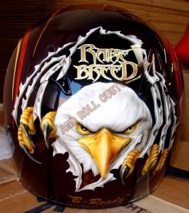 Helmet Custom Paint 137