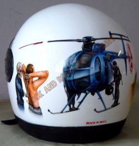 Helmet Custom Paint 14