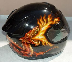 Helmet Custom Paint 140