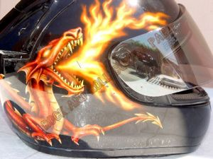 Helmet Custom Paint 141