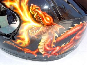 Helmet Custom Paint 142