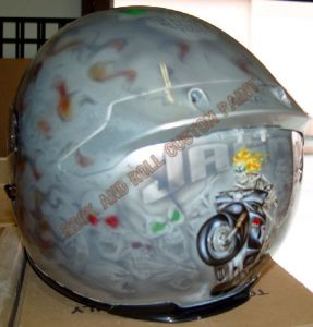 Helmet Custom Paint 146