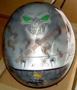 Helmet Custom Paint 147