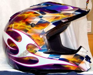 Helmet Custom Paint 151